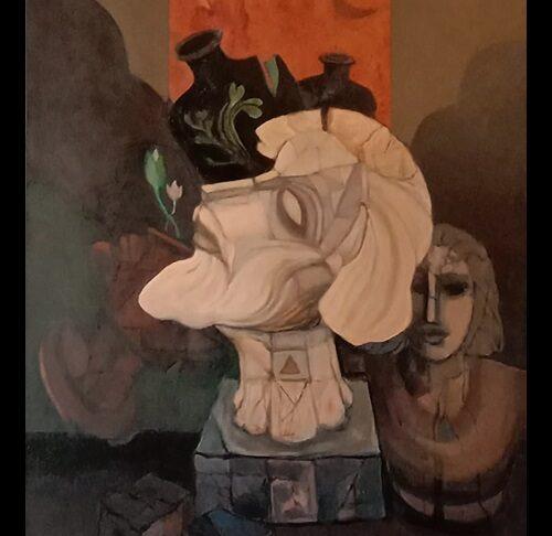 Artist-Jagadish Dey, Title-Resurrection